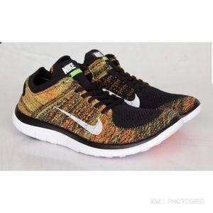 Nike Flyknit Free Men's Running Training Shoes 12